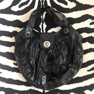 Marc by Marc Jacobs Hobo Patent Leather Shoulder Bag